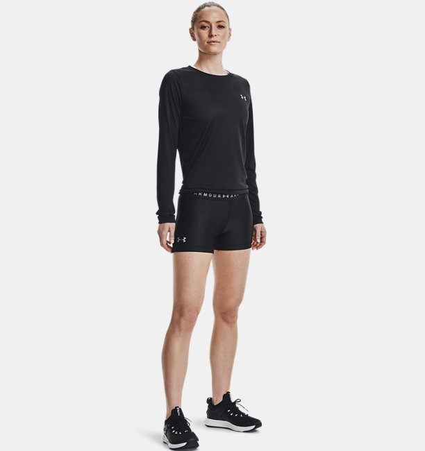 Shorty HeatGear® Armour para Mujer