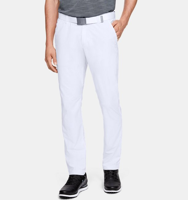 Mens UA Microthread Trousers Tapered