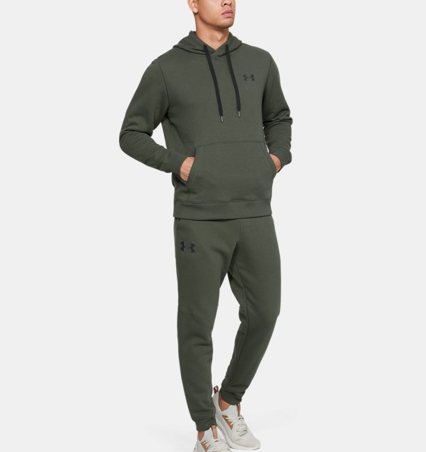 Mens UA Rival Fleece Fitted Joggers