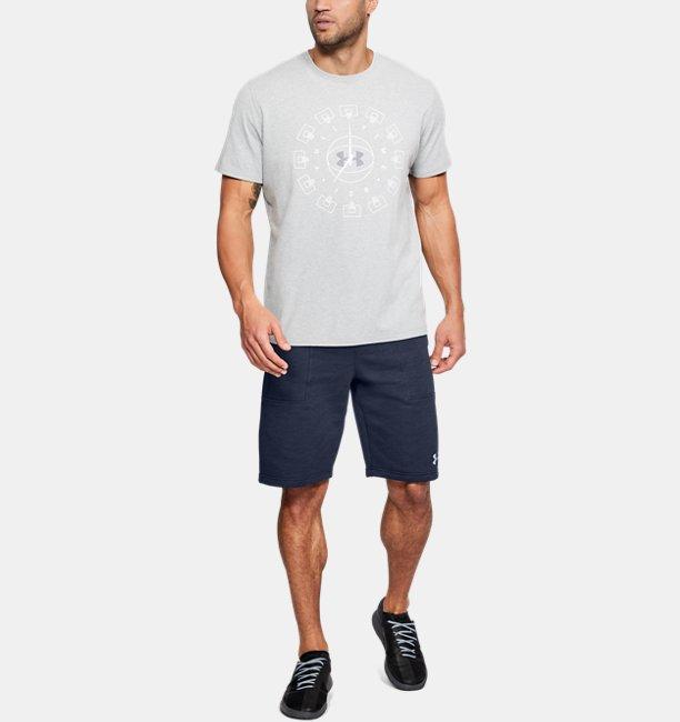 Shorts UA Baseline Fleece Masculino  530bcaecbb0d4