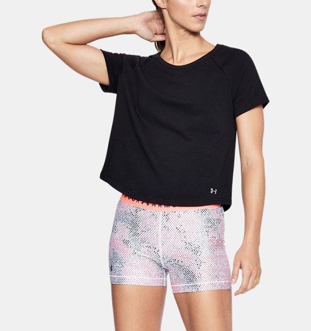 Womens UA Microthread Terry Short Sleeve