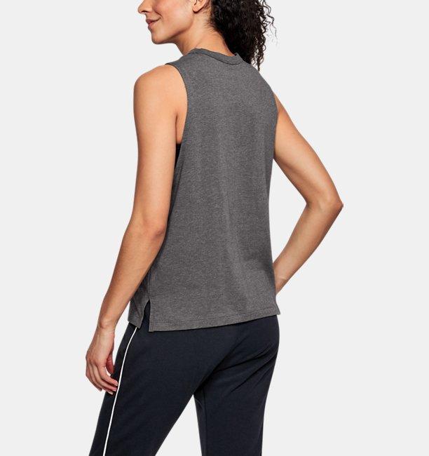 Regata UA Linear Wordmark Muscle Feminina