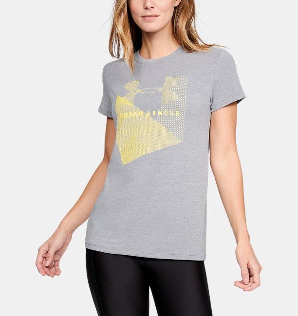 Womens UA Sportstyle Mesh Logo T-Shirt