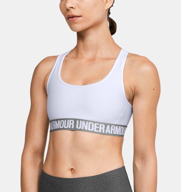 Womens UA Crossback Mid Sports Bra
