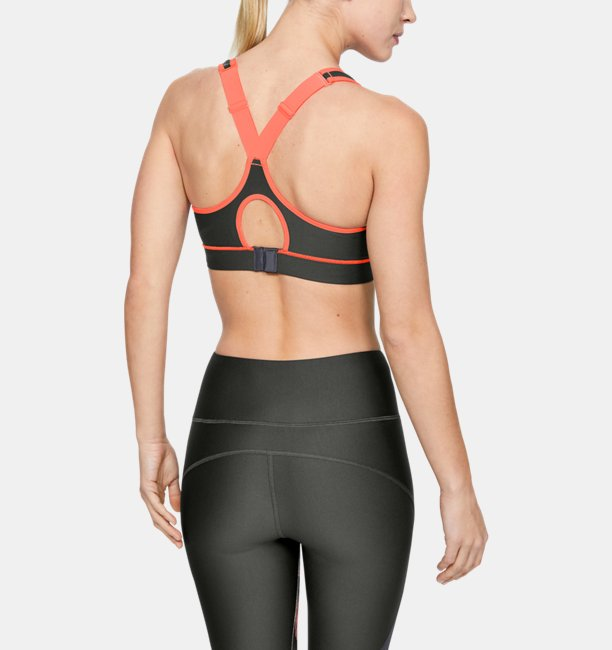 Womens HeatGear Armour® High Support Sports Bra