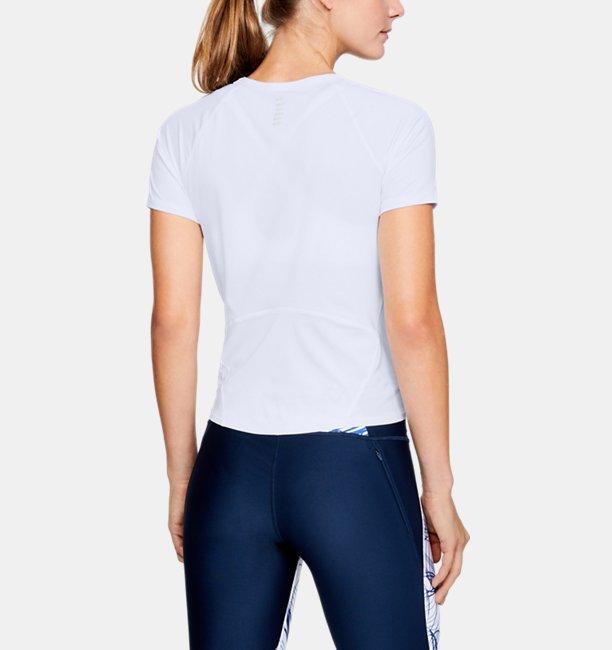 Womens UA CoolSwitch Run Short Sleeve