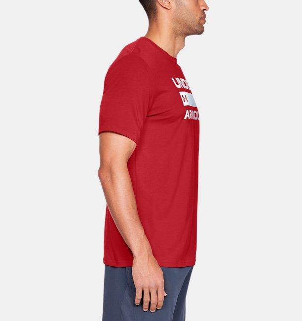 Camiseta UA Team Issue Wordmark Masculina