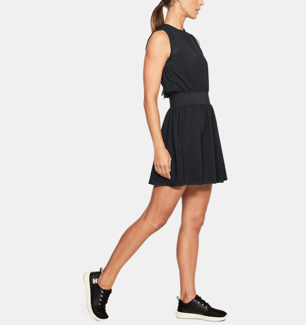 Womens Misty Copeland Signature Woven Perforated Dress