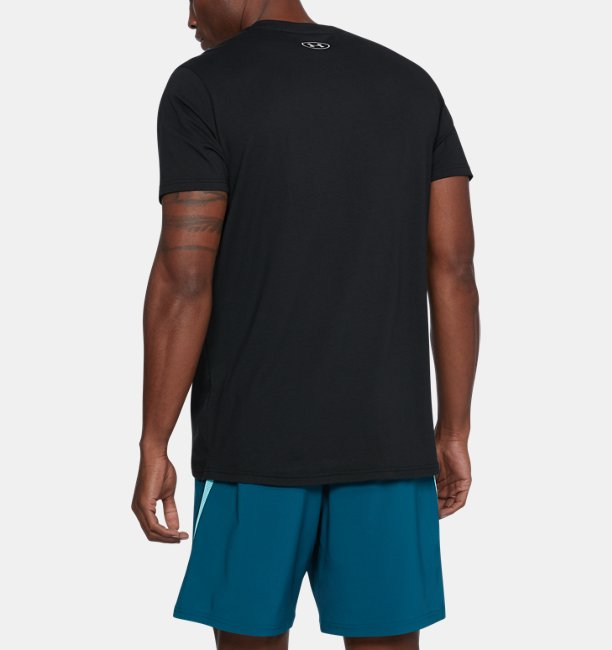 Mens UA Warped Route T-Shirt