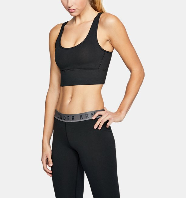 Womens UA Favorite Cotton Everyday Long Sports Bra