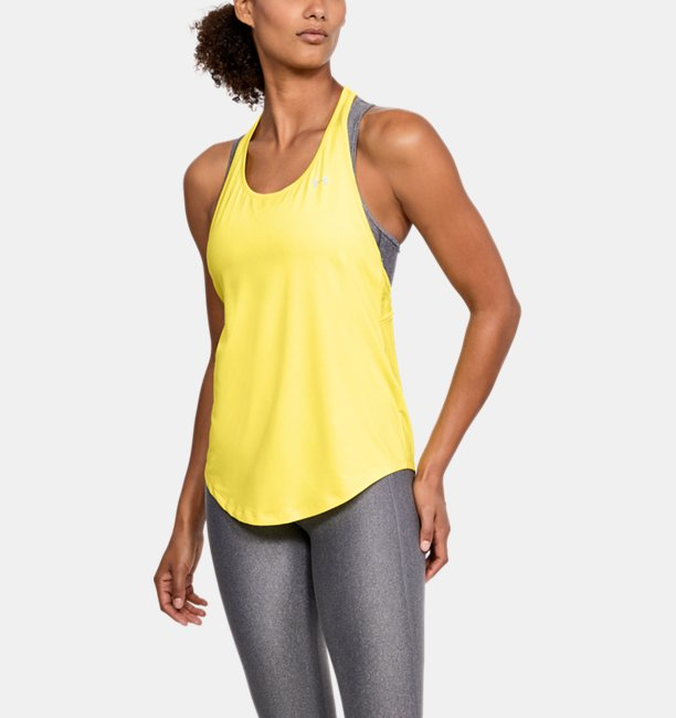 Womens HeatGear® Armour Mesh Back Tank