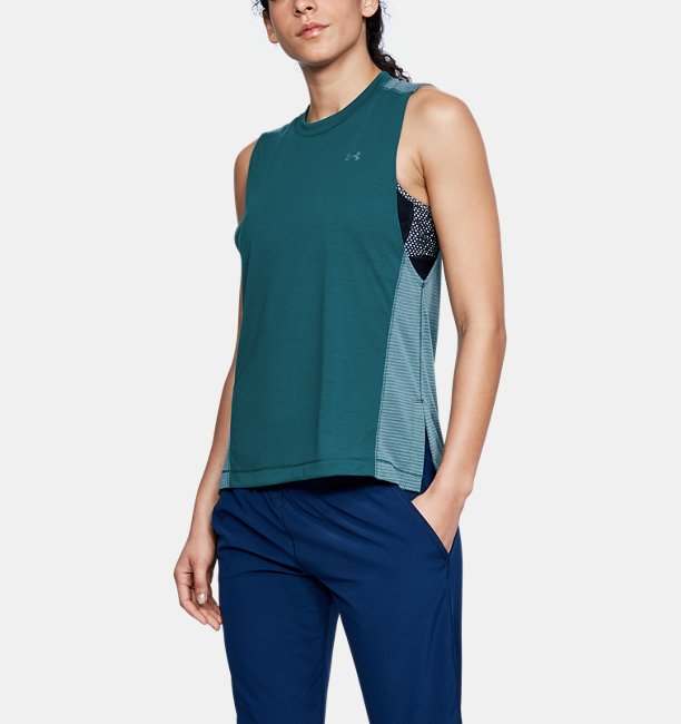 Womens UA Microthread Muscle Tank