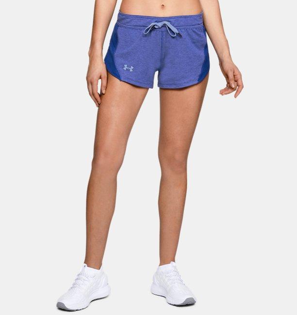 Womens UA Featherweight Fleece Shorts