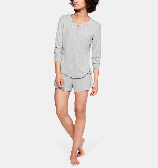 Womens Athlete Recovery Sleepwear™ Ultra Comfort Henley Top