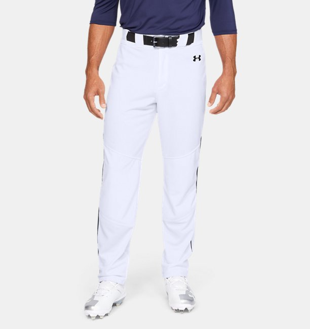 Mens UA Utility Relaxed Piped Baseball Pants