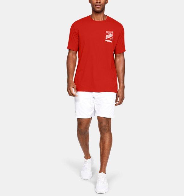 남성 UA 가솔린 반팔 셔츠