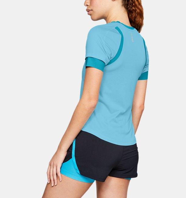 Womens UA HexDelta Short Sleeve