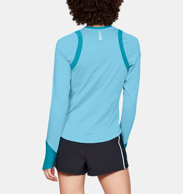 Womens UA HexDelta Long Sleeve