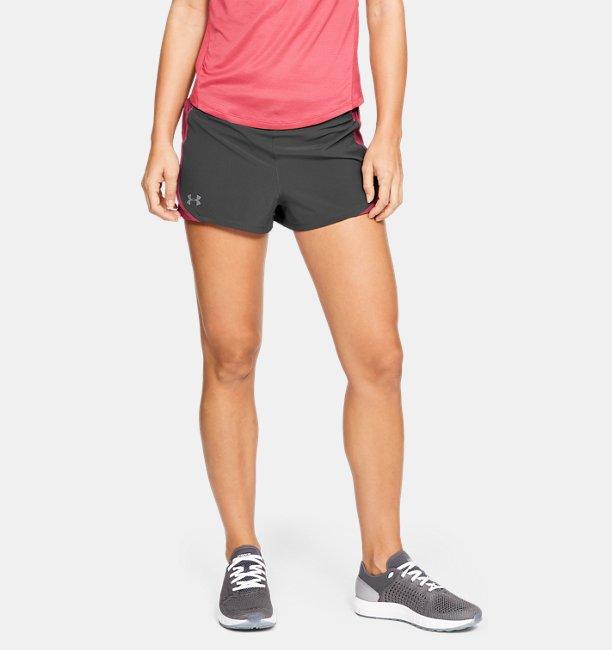 Womens UA Speedpocket Shorts