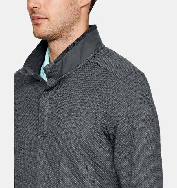 super service best quality luxury Men's UA Storm SweaterFleece Snap Mock