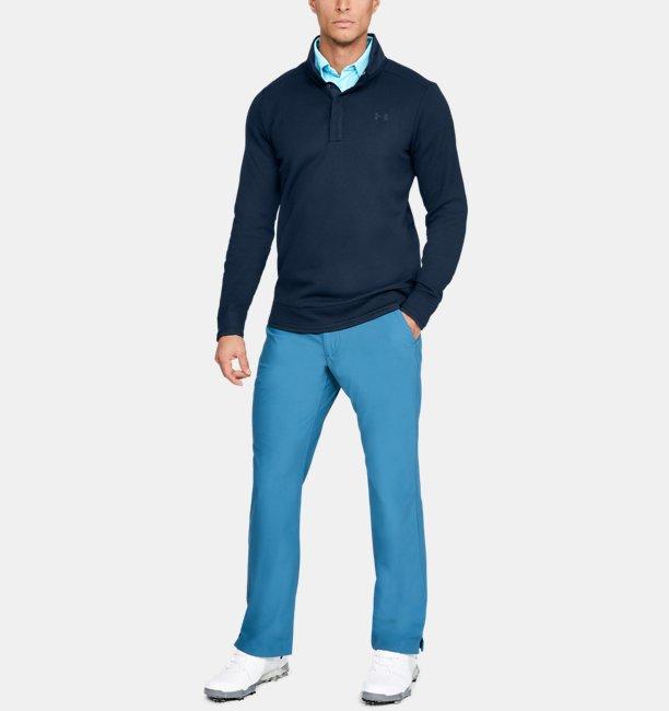 Playera de Cuello Cerrado UA Storm SweaterFleece Snap para Hombre