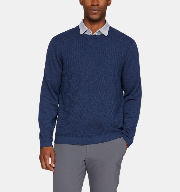 Mens UA Threadborne Crew Sweater