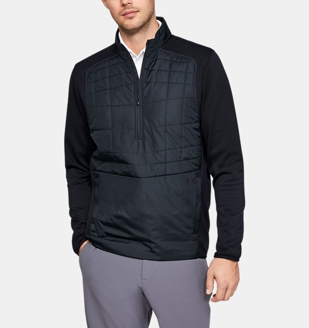 Mens UA Insulated 1/2 Zip