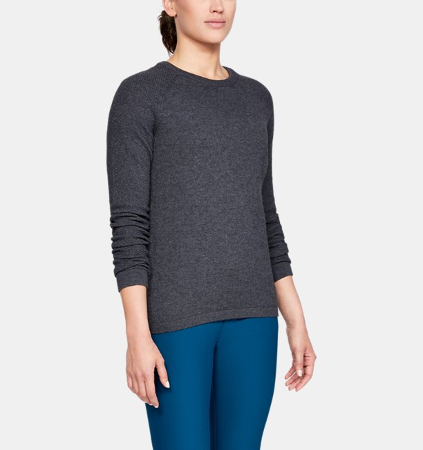 Womens UA Threadborne Crew Sweater