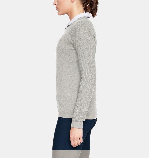 Womens UA Threadborne Crew Sweater