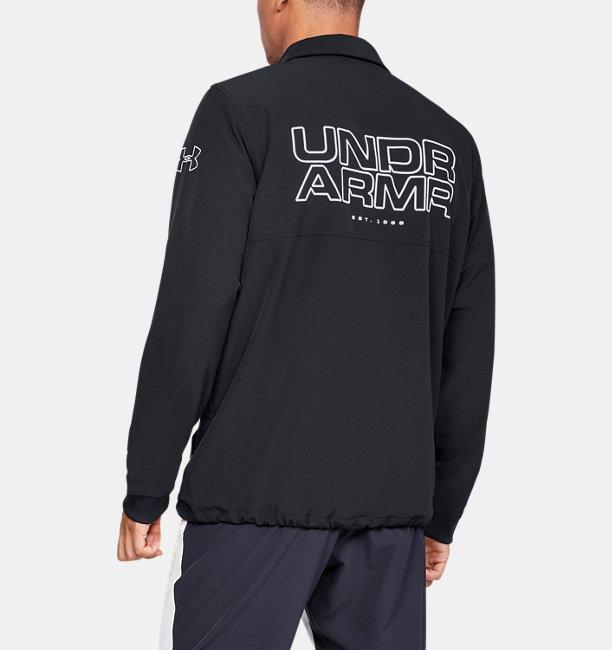 Mens UA Baseline Coaches Jacket