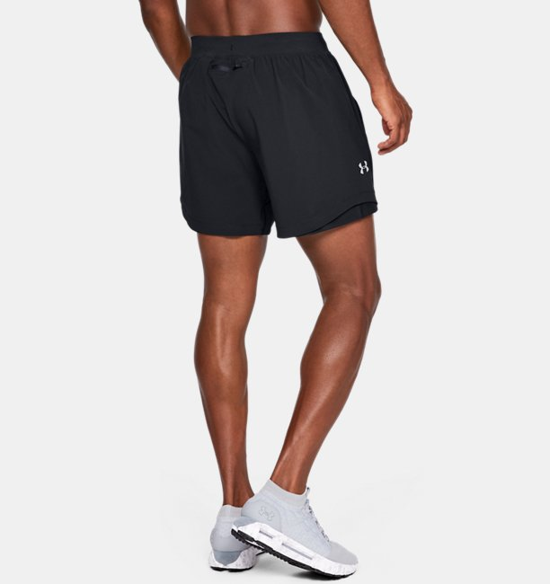 Mens UA Speedpocket Linerless 6 Shorts