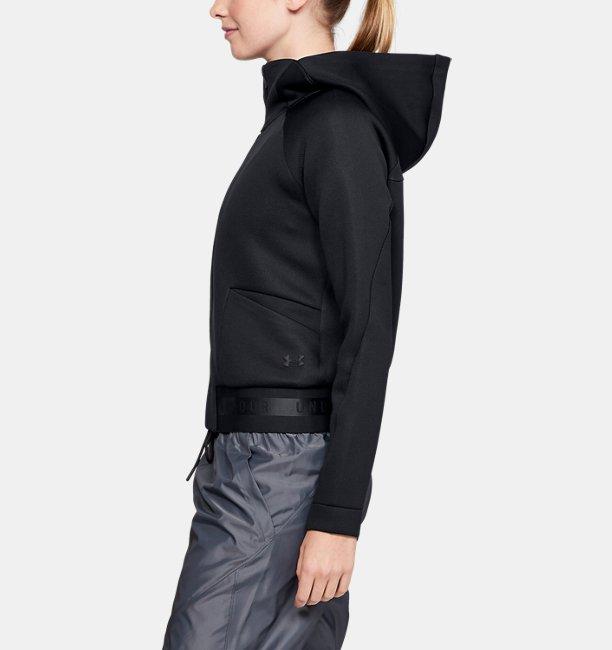 Damen UA Unstoppable /MOVE Oberteil mit durchgehendem Zip