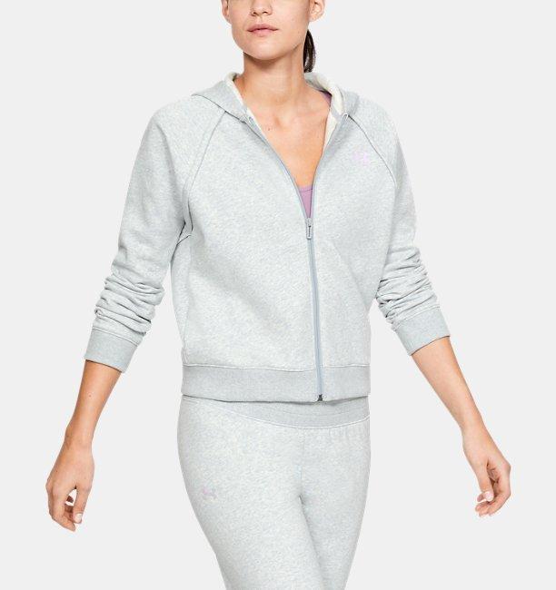 Womens UA Rival Fleece Crop