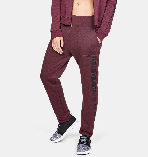 Pantalón de tejido Fleece UA Rival para mujer  35e2207e3312