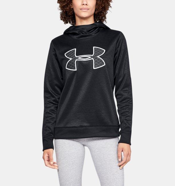Kadın Armour Fleece® Big Logo Kapüşonlu Üst