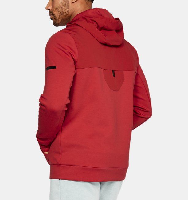 Mens UA Unstoppable Knit Full Zip Hoodie