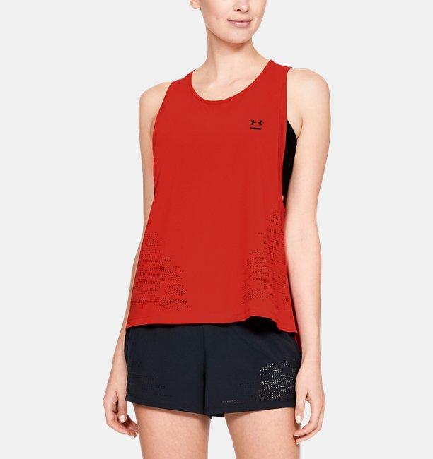 Camiseta Regata UA Perpetual Woven Feminina