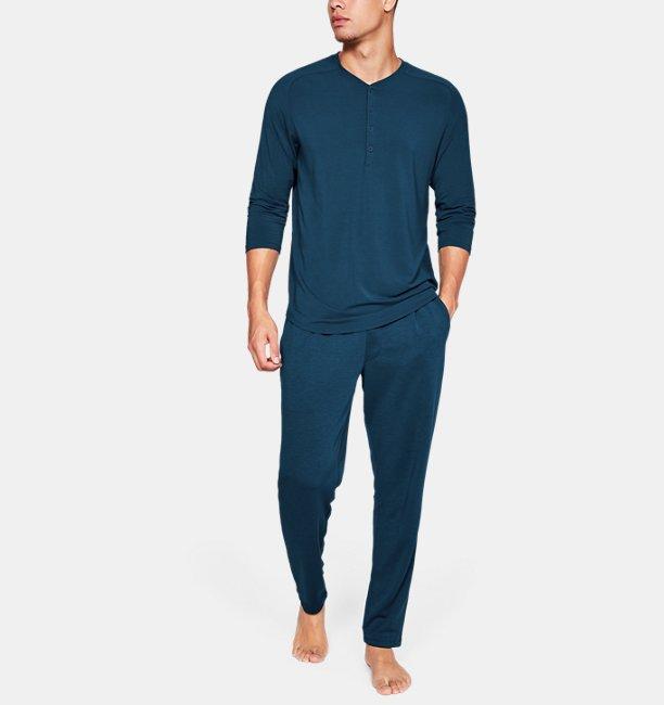 Mens UA Recover Sleepwear Ultra Comfort  3/4 Henley