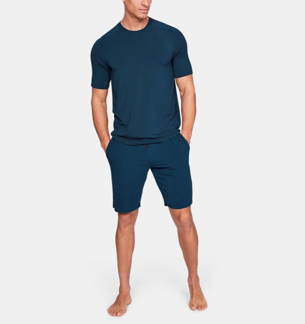 Mens UA Recover Sleepwear Ultra Comfort  Short Sleeve