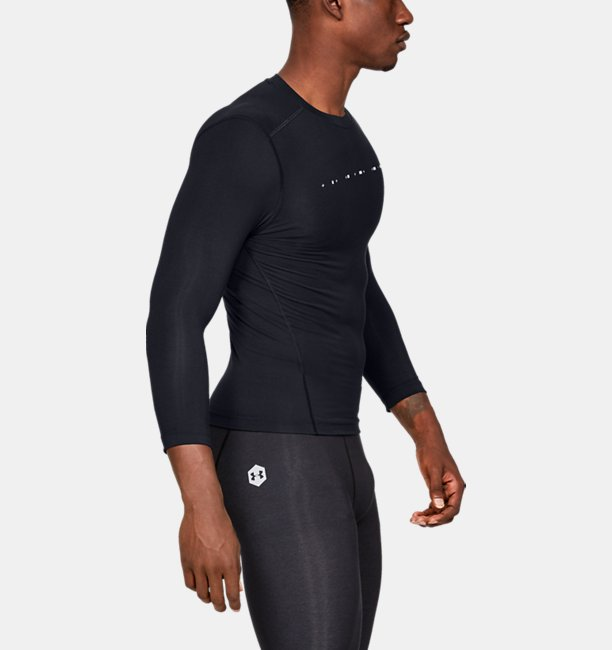 Mens UA Recover Compression ¾ Sleeve