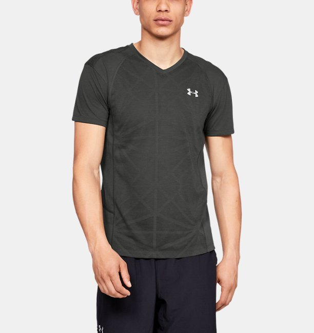 Men's UA Microthread Swyft V-Neck