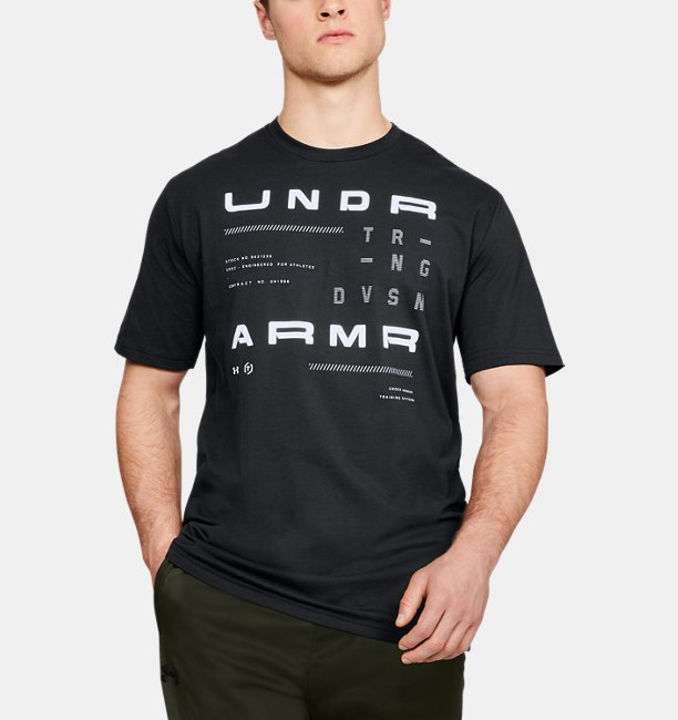 Erkek UA TRN DVSN Kısa Kollu Tişört