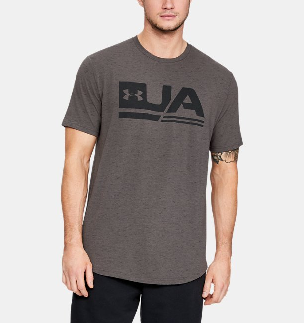Mens UA Sportstyle Short Sleeve