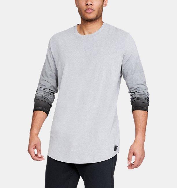 Camiseta Manga Larga UA Sportstyle Gradual para Hombre  5d9ad9b941e
