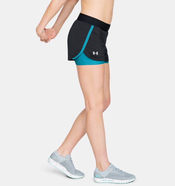 Womens UA Speedpocket 2-in-1 Short