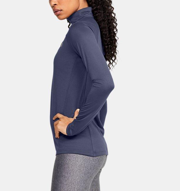 Playera UA Tech™ ½ Zip para Mujer