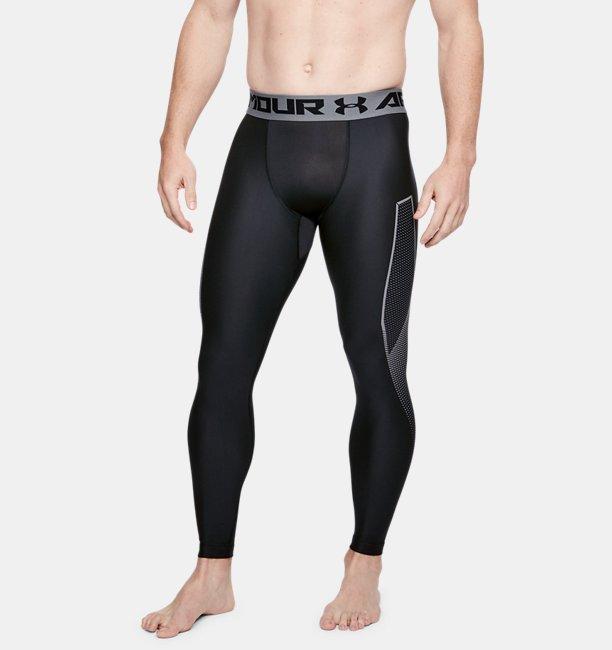 Mens HeatGear® Armour Leggings Graphic