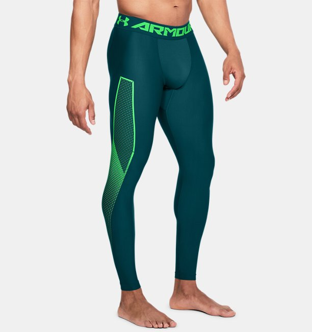 Mens HeatGear® Armour Leggings Graphic