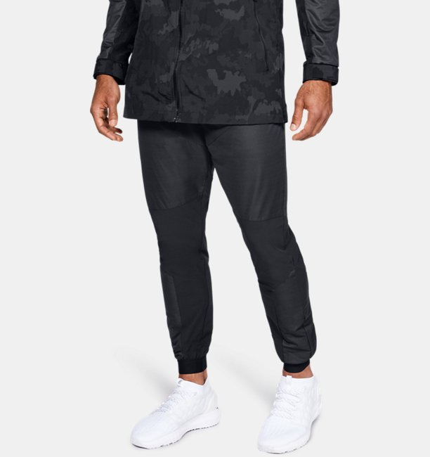 Mens UA Unstoppable GORE® WINDSTOPPER® Woven Joggers