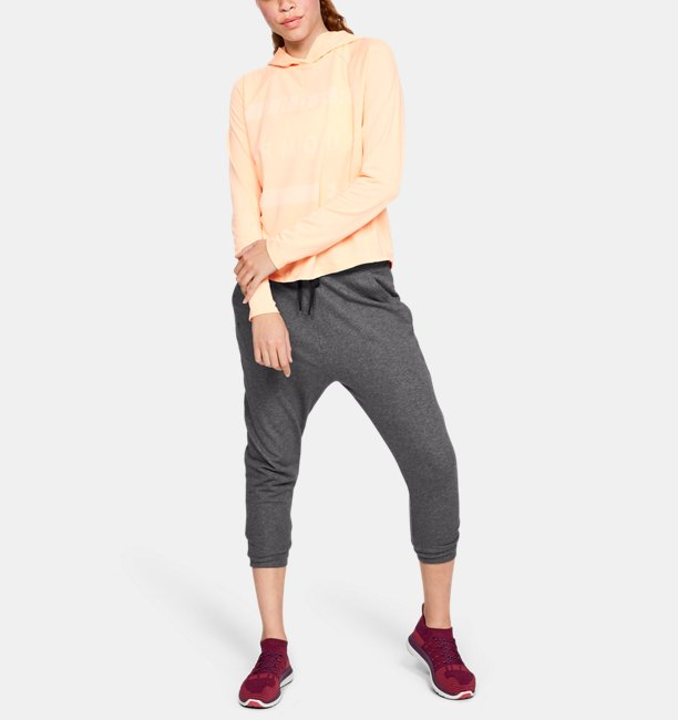 Womens UA Favorite Terry Tapered Slouch Crop